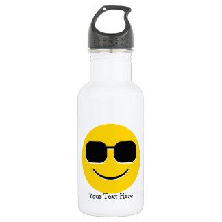 Lunettes de soleil fraîches Emoji Bouteille D'eau En Acier Inoxydable