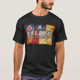 """L'union noire de whiskey T-shirt de """"3 états"""""""