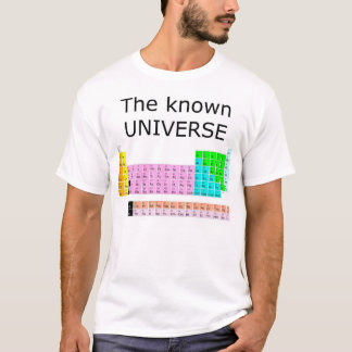 L'univers connu t-shirt