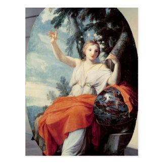 L'Urania de Muse, 1646-47 Carte Postale