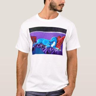 'Lurcher illuminé par les étoiles T-shirt