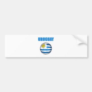 L'Uruguay Socccer 2010 T-shirts Autocollant Pour Voiture