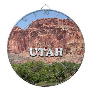 L'Utah : Fruita, parc national de récif de Jeu De Fléchettes