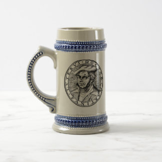 Luther Stein - gris/bleu Chope À Bière