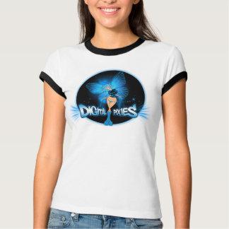 Lutin bleu de lutins de Digitals - T-shirt de