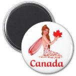 Lutin canadien magnets pour réfrigérateur