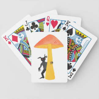 Lutin de champignon jeu de cartes
