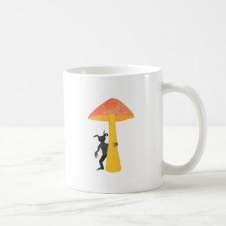 Lutin de champignon mug