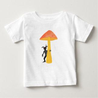 Lutin de champignon t-shirt pour bébé