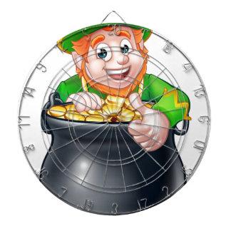 Lutin de Jour de la Saint Patrick de bande Jeu De Fléchettes
