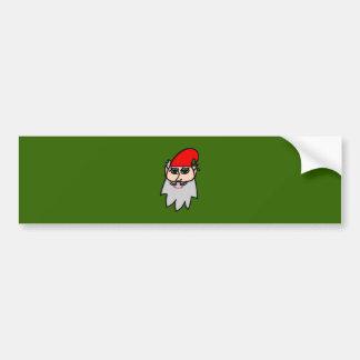 Lutin de Noël christmas goblin Adhésifs Pour Voiture