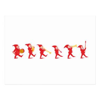 Lutins Gnome imps goblins gnomes Carte Postale