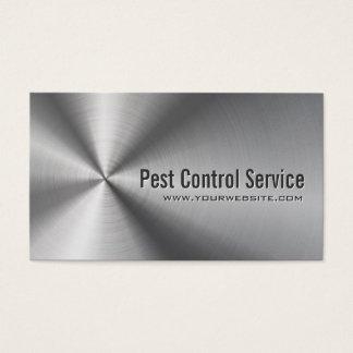 Lutte contre les parasites en métal d'acier cartes de visite