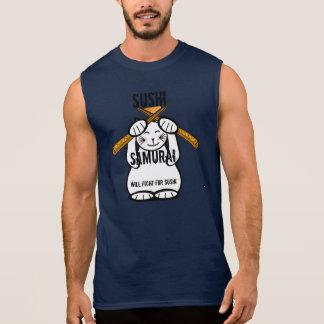 Luttera pour des sushi t-shirt sans manches