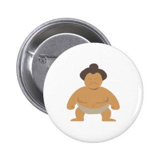 Lutteur de sumo pin's