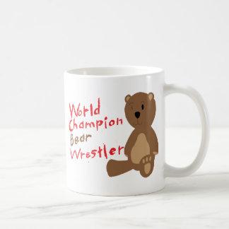 Lutteur d'ours mug