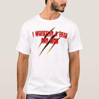 Lutteur épique d'ours t-shirt