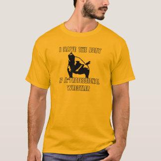 Lutteur professionnel t-shirt