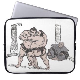 Lutteurs de sumo housses ordinateur
