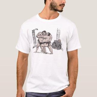 Lutteurs de sumo t-shirt