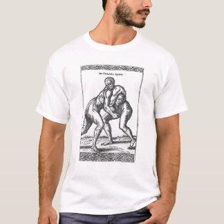 Lutteurs turcs t-shirt