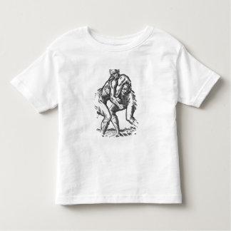 Lutteurs turcs t-shirt pour les tous petits