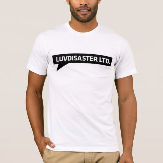 LuvDisaster Ltd - T-shirt de base, blanc