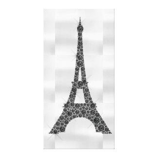 Luxe blanc noir de Paris de Français de Tour Toile