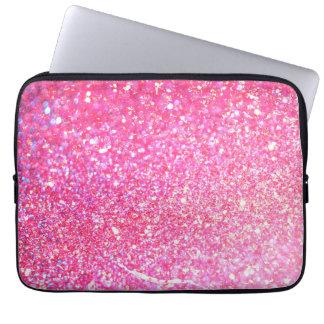 Luxe brillant de scintillement trousses pour ordinateur portable
