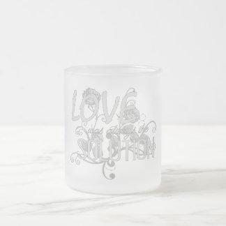 LWATS - Tasse en verre givré