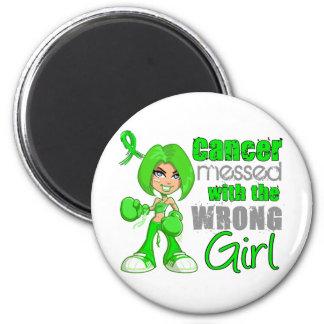 Lymphome sali avec Girl png faux Magnets Pour Réfrigérateur