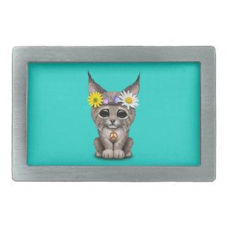 Lynx hippie mignon CUB Boucles De Ceinture Rectangulaires