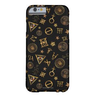 M.A.C.U.S.A. Symboles et motif magiques de crêtes Coque iPhone 6 Barely There
