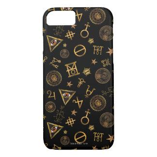 M.A.C.U.S.A. Symboles et motif magiques de crêtes Coque iPhone 7
