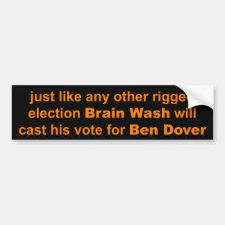 M. Brain Wash Autocollant De Voiture