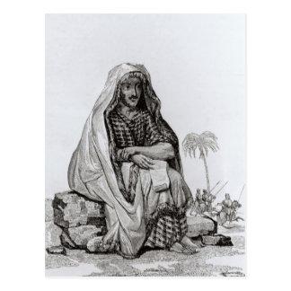 M. Caillie Meditating Carte Postale