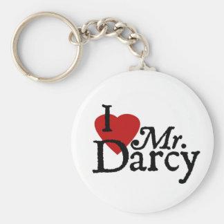 M. Darcy d'AMOUR de Jane Austen I Porte-clé Rond