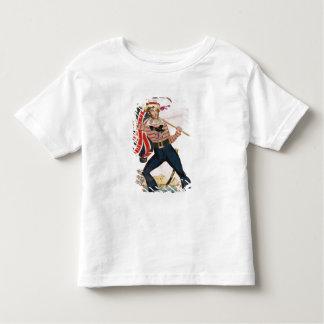 M.E.F. Saville en tant que 'Union Jack T-shirts