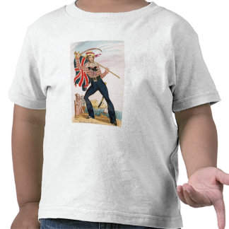 M.E.F. Saville en tant que 'Union Jack T-shirt