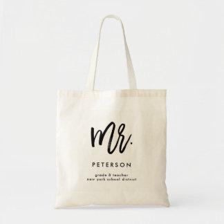 M. élégant du professeur | Personalized Bag pour Sacs