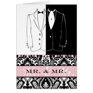 M. et M. II Carte De Correspondance
