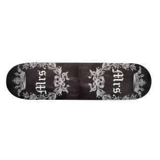 M. et Mme chics minables de tableau Mini Skateboard 18,4 Cm