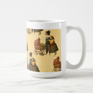 M. et Mme Dog et papier peint vintage 1899 de Mug