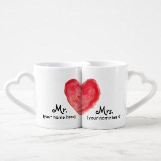 M. et Mme Lovers Mugs Tasse Duo