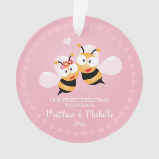 M. et Mme mignons Honey Bee First Christmas