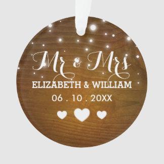 M. et Mme rustiques Wedding Hearts Christmas