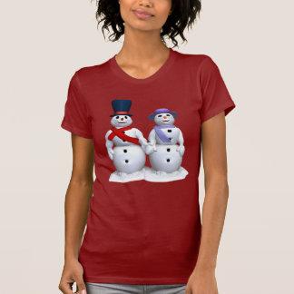 M. et Mme Snowman T-shirt