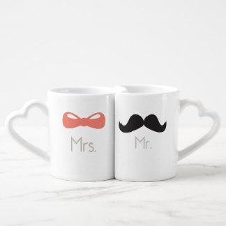 M. et Mme {tasses d'amour} Mug