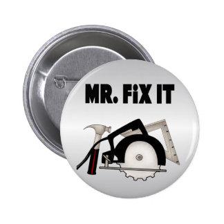 M. Fix It Badges Avec Agrafe