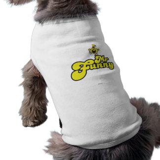 M Funny Logo 1 2 Tee-shirt Pour Animal Domestique